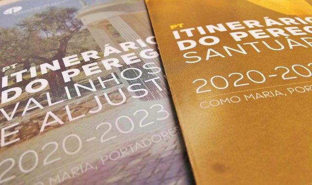 folhetos itinerários do peregrino - santuario de fátima - portugal