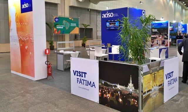 Stand de Fátima na ABAV Expo 2021 - foto ACISO